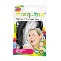 MOSQUITNO Náramok pre dospelých proti dotieravému hmyzu citronelová vôňa 1 ks