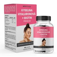 MOVIT ENERGY Kyselina hyalurónová + biotín premium 60 kapsúl