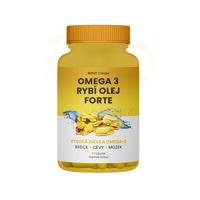 MOVIT ENERGY Omega 3 Rybí olej forte 60 kapsúl