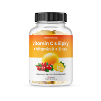MOVIT ENERGY Vitamín C 1200 mg + Vitamín D + Zinok 90 tabliet