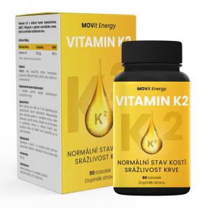 MOVIT ENERGY Vitamín K2 90 kapsúl