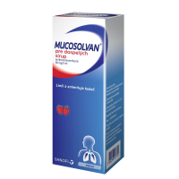 MUCOSOLVAN pre dospelých 30 mg/5 ml sirup 100 ml