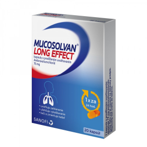 MUCOSOLVAN Long Effect 75 mg 20 kapsúl