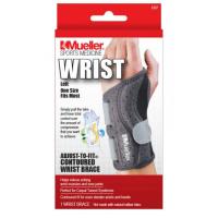 MUELLER Adjust-to-fit Wrist Brace Ortéza na ľavé zápästie 1 kus