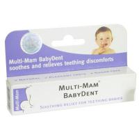 Multi-Mam BabyDent gél bioadhezívny na prerezávajúce sa zúbky 15 ml