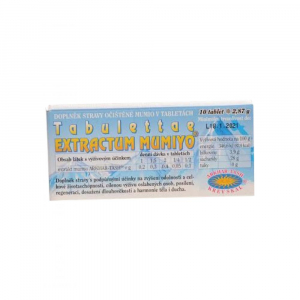 BEYISH Mumiyo tabulettae extractum 10 x 0.2 g