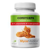 MYCOMEDICA Cordyceps 50% 90 vegan rastlinných kapsúl