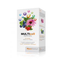 MYCOMEDICA Multicell 60 rastlinných vegan kapsúl