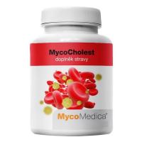 MYCOMEDICA MycoCholest 120 rastlinných vegánskych kapsúl