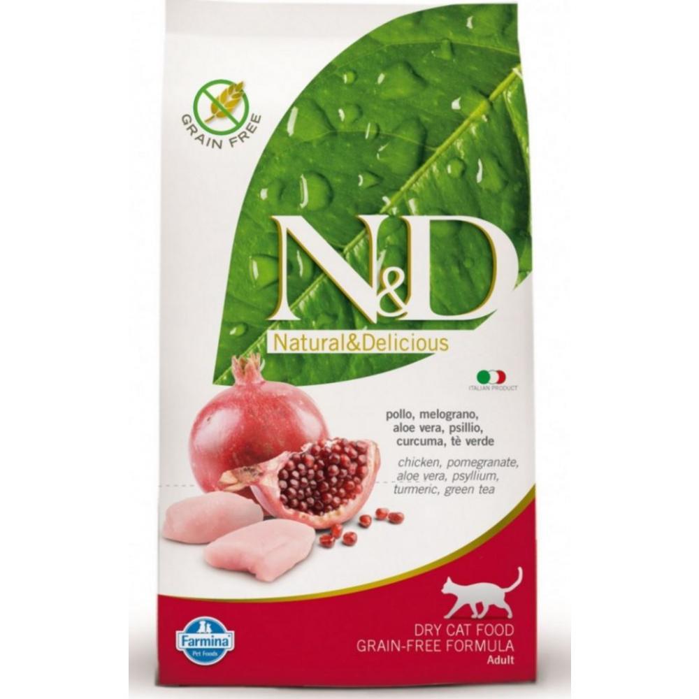 N & D CAT Adult Chicken & Pomegranate 1,5kg