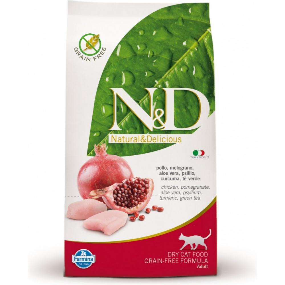 N & D CAT Adult Chicken & Pomegranate 300g
