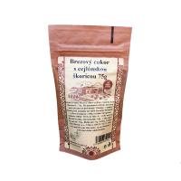 NAJTELO Škoricový brezový cukor s cejlónskou škoricou 75 g