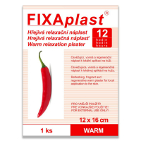 FIXAPLAST Warm Hrejivá náplasť 12x16 cm 1 ks