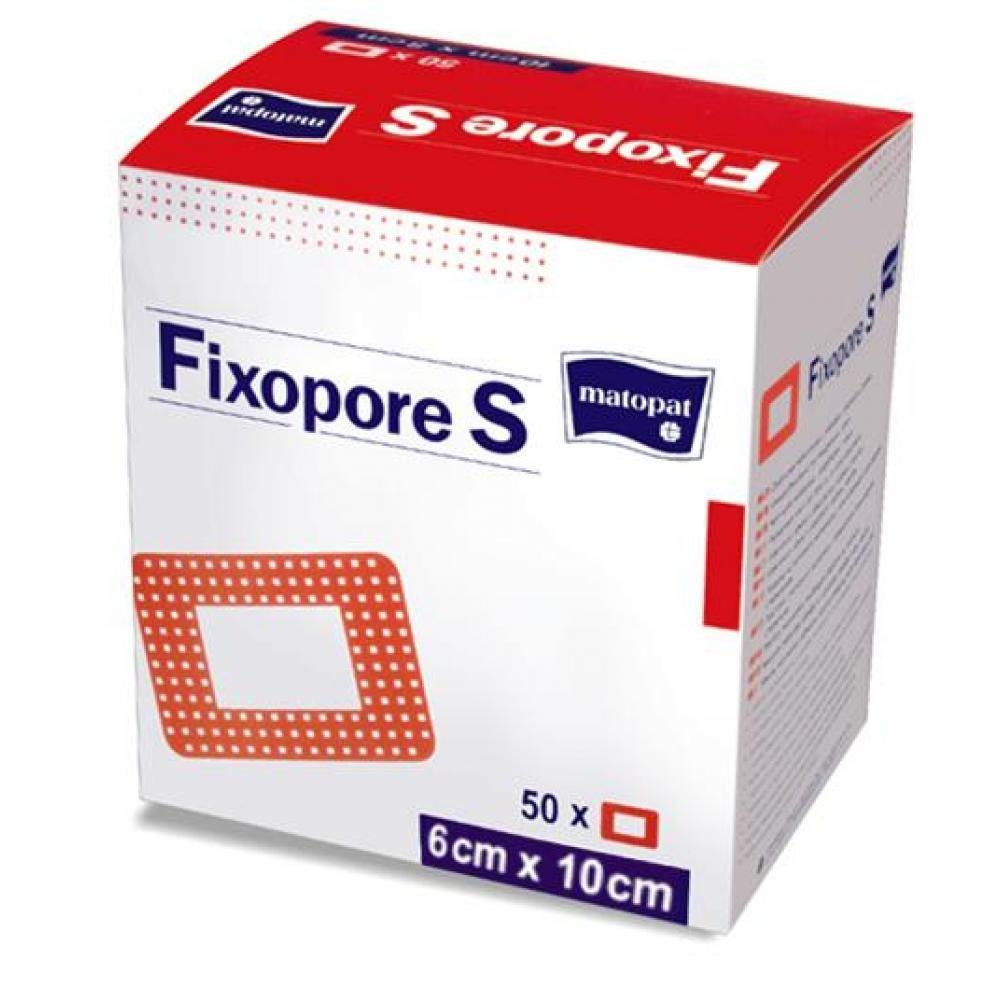 Fixopore S 6 x 10 cm á 50 ks. sterilná náplasť