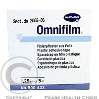 Náplasť Omnifilm porézny fólie 1.25 cmx5 m 1 ks