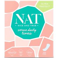 NAT nice & true Slipové vložky - secure daily 60 ks