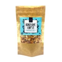 NATU Kokosové chipsy BIO morská soľ 70 g