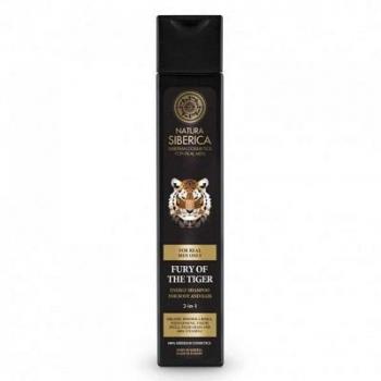 NATURA siberica Šampón na vlasy a telo 2v1 neskrotnosťou tigra 250 ml