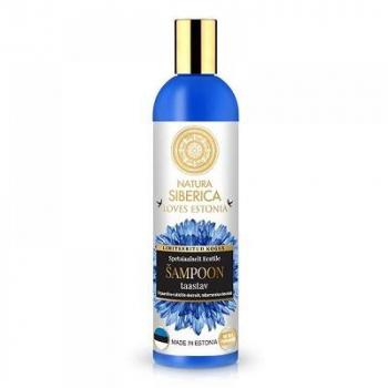 NATURA SIBERICA Regeneračný šampón na vlasy Loves Estonia 400 ml