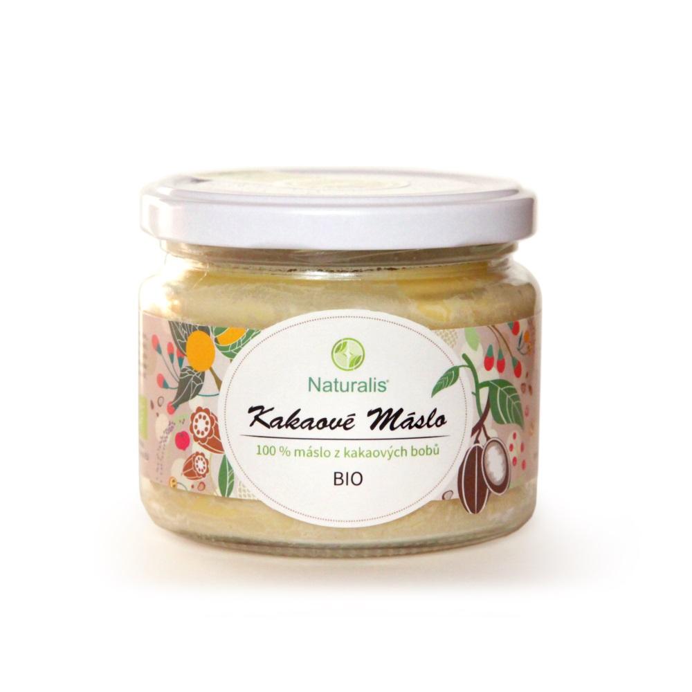 NATURALIS Kakaové maslo BIO 300 ml