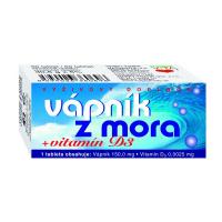 NATURVITA Vápnik z mora + Vitamín D3 60 tabliet