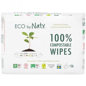 NATY Detské vlhčené hygienické obrúsky Economy pack 3x 56 ks
