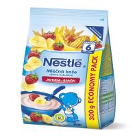 NESTLÉ Mliečna kaša ryžovo-kukuričná Jahoda-Banán 300 g
