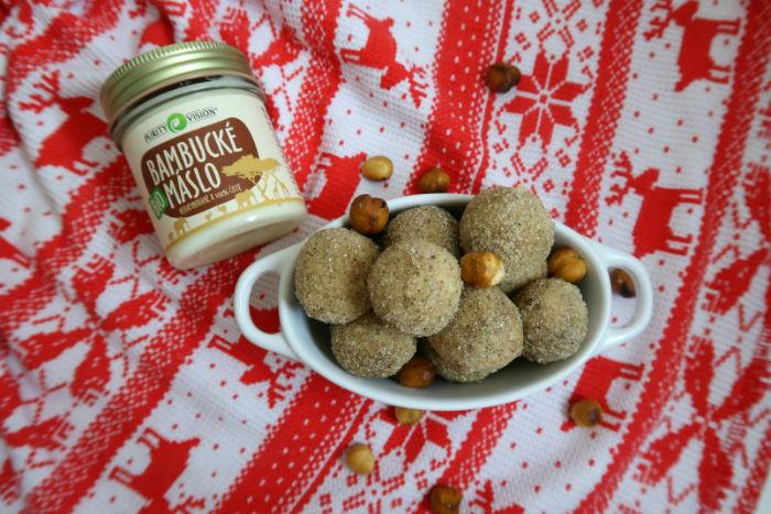 Netradičné vianočné sladkosti: Maslové guľôčky z bambuckého masla