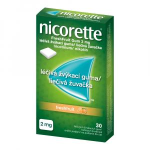 NICORETTE Freshfruit Gum 2 mg 30 liečivých žuvačiek