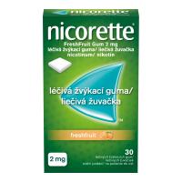 NICORETTE Freshfruit Gum 2 mg liečivé žuvačky 30 ks