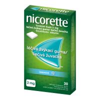 NICORETTE Icemint Gum 2 mg 30 liečivých žuvačiek