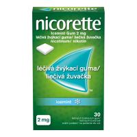 NICORETTE Icemint Gum 2 mg liečivé žuvačky 30 ks