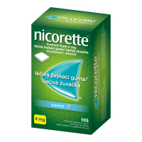 NICORETTE Icemint Gum 4 mg 105 liečivých žuvačiek