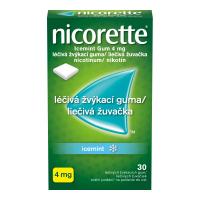 NICORETTE Icemint Gum 4 mg liečivé žuvačky 30 ks