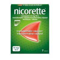 NICORETTE Invisipatch 10 mg/16 h transdermálna náplasť 7 ks