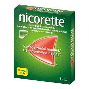 NICORETTE Invisipatch 15 mg/16 h transdermálna náplasť 7 ks