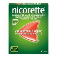 NICORETTE Invisipatch 25 mg/16 h transdermálna náplasť 7 ks