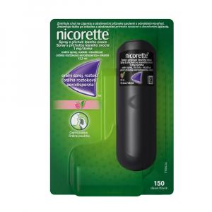 NICORETTE Spray 1 mg/dávka príchuť lesné ovocie orálna roztoková aerodisperzia 13,2 ml