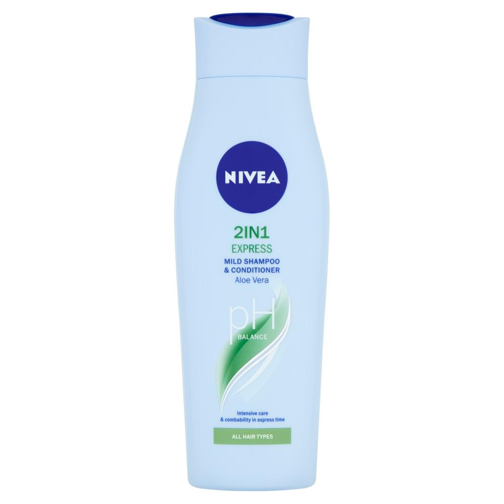NIVEA Šampón a kondicionér 2v1 Care Express 250 ml