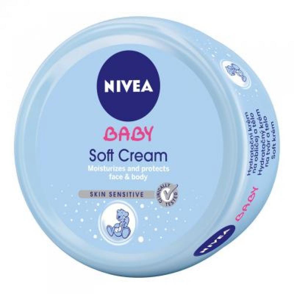 NIVEA Baby hydratačný krém na tvár a na telo 200 ml