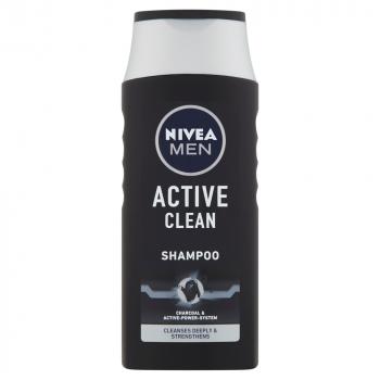 NIVEA MEN šampón pre normálne vlasy Active Clean 250 ml