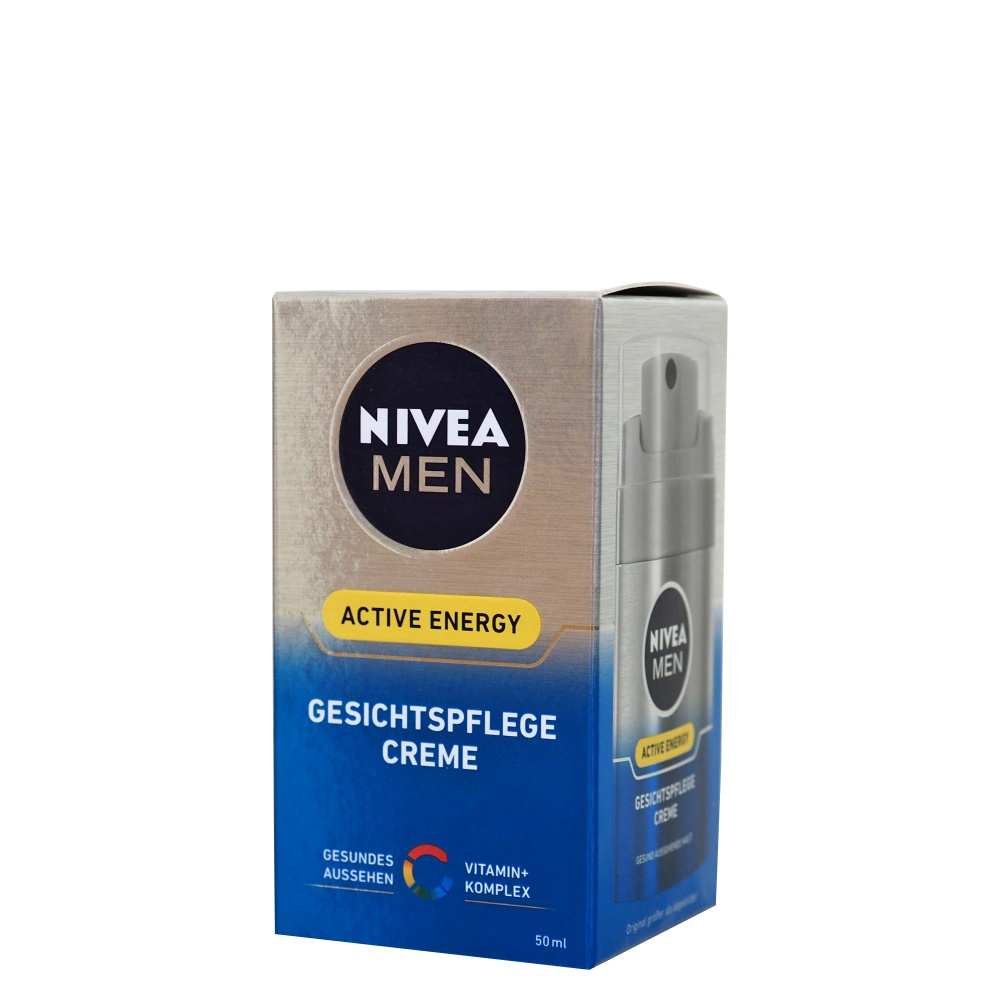 NIVEA MEN ošetrujúci krém Skin Energy 50 ml
