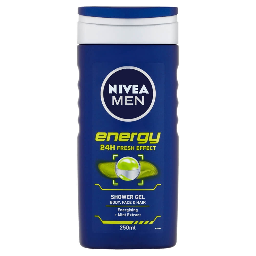NIVEA MEN sprchový gél Energy 250 ml