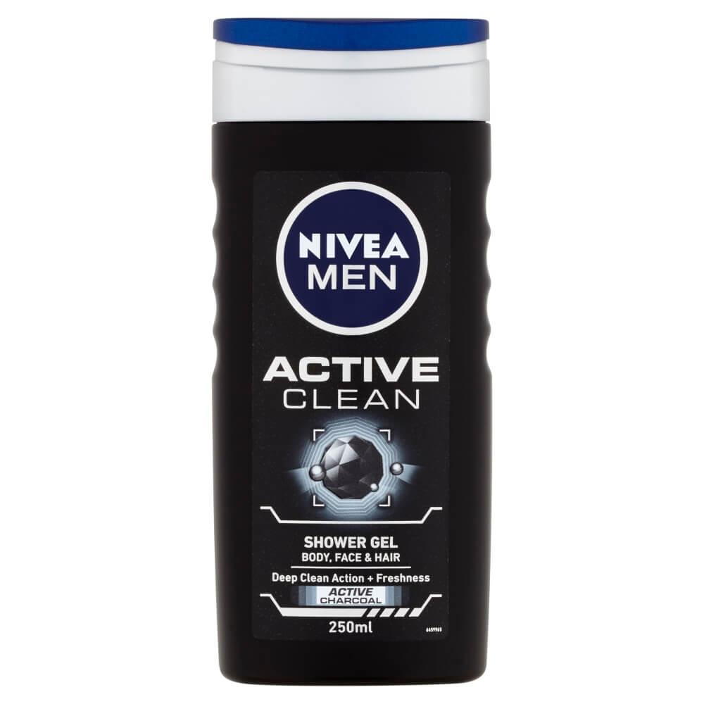NIVEA MEN sprchový gél Active Clean 250 ml