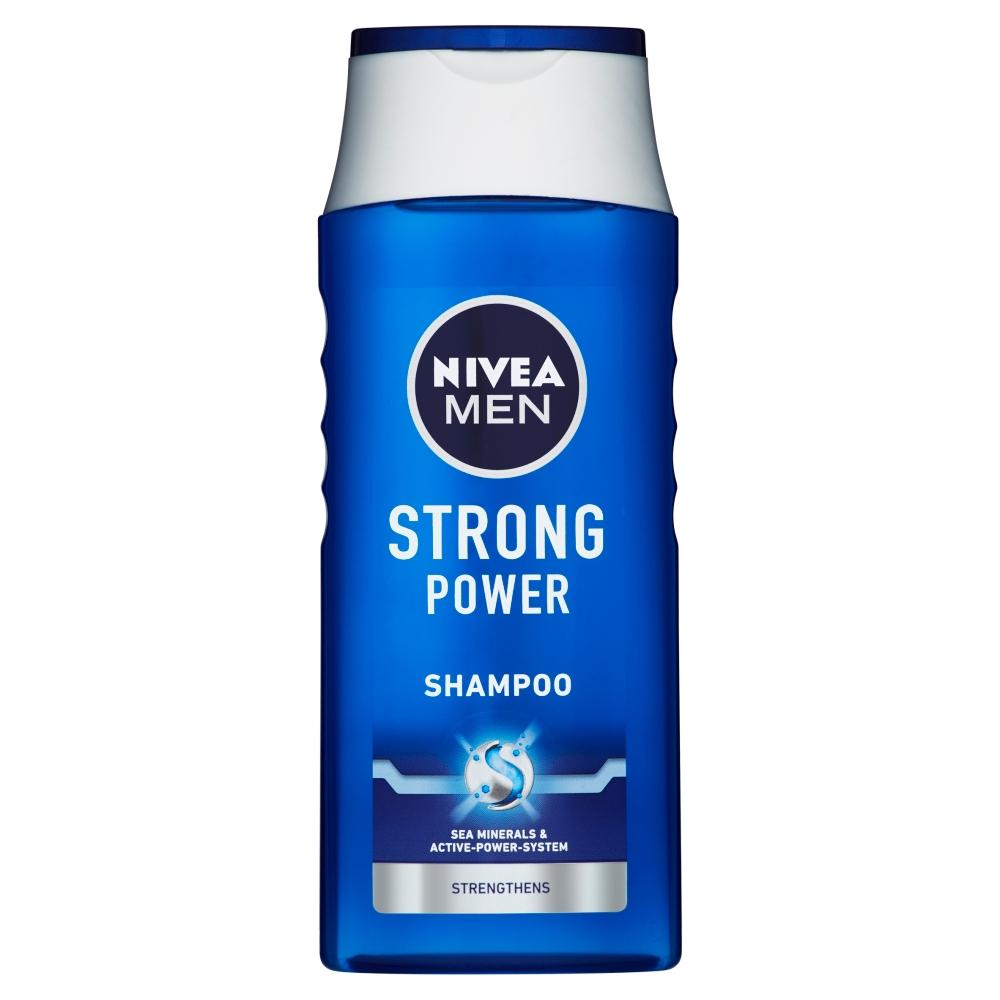 NIVEA MEN posilňujúci šampón pre normálne vlasy Strong Power 250 ml