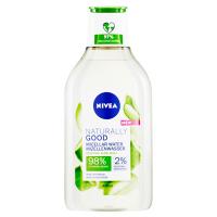 NIVEA Naturally Good Micelárna voda pre všetky typy pleti 400 ml