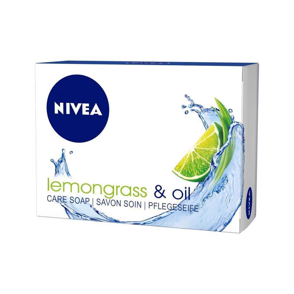 NIVEA Krémové tuhé mydlo lemongrass & oil 100 g