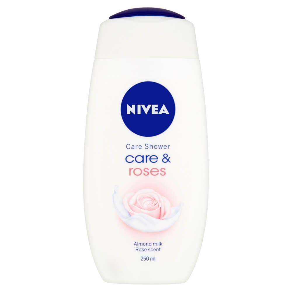 NIVEA Ošetrujúci sprchový gél Care & Roses 250 ml