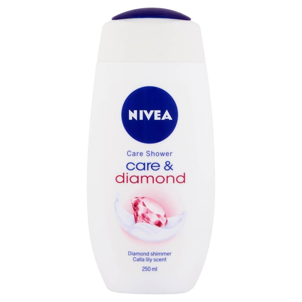 NIVEA Osviežujúci sprchový gel Diamond Touch 250 ml