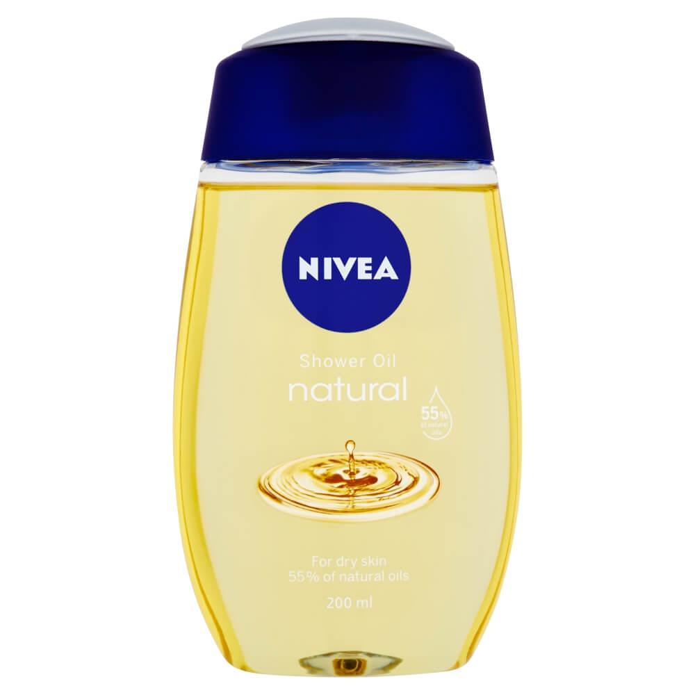 NIVEA Ošetrujúci sprchový olej Natural 200 ml